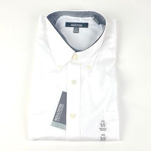Kenneth Cole Reaction 2XL 18-18.5 36-37 Shirt 1166